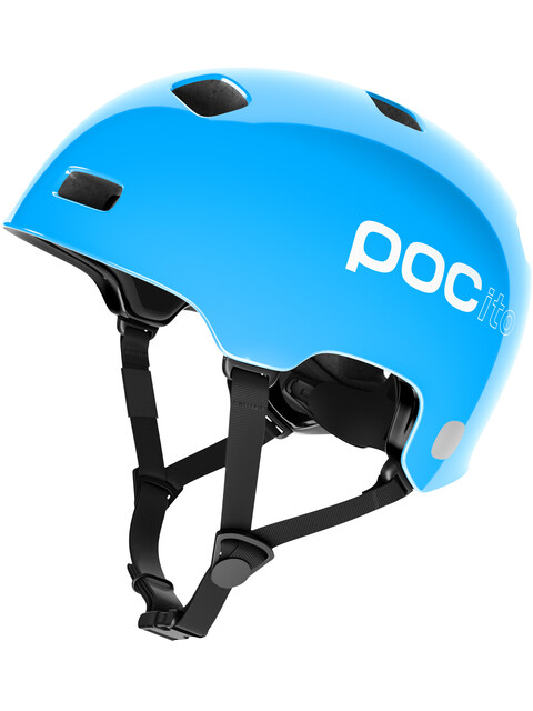 POC POCito Crane Helmet fluorescent blue